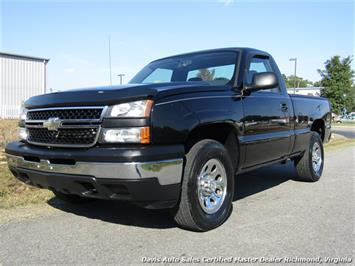 2007 Chevrolet Silverado 1500 Classic 4X4 Manual Regular Cab Short Bed Truck