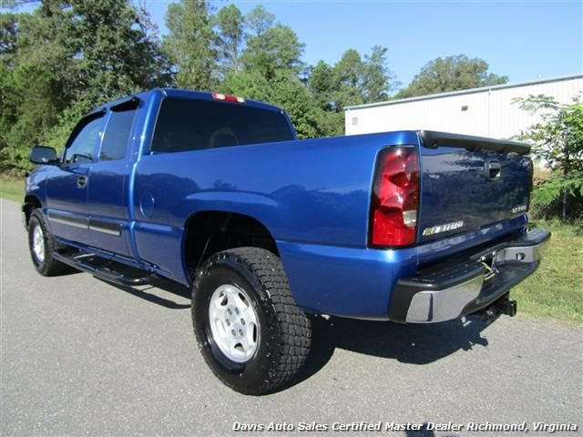 2004 chevrolet silverado 1500 ls 4x4 extended cab short. Black Bedroom Furniture Sets. Home Design Ideas