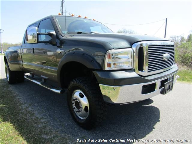 2006 ford f 350 super duty king ranch 4x4 dually diesel crew cab. Black Bedroom Furniture Sets. Home Design Ideas