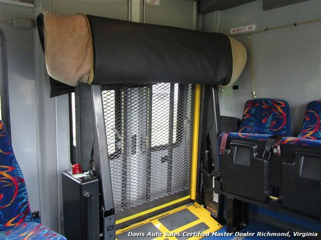 2007 Ford E450 Super Duty Startrans Passenger Shuttle Bus Wheelchair Accessable DRW - Photo 28 - Richmond, VA 23237
