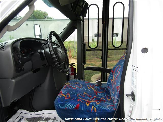 2007 Ford E450 Super Duty Startrans Passenger Shuttle Bus Wheelchair Accessable DRW - Photo 6 - Richmond, VA 23237