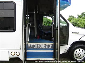 2007 Ford E450 Super Duty Startrans Passenger Shuttle Bus Wheelchair Accessable DRW - Photo 23 - Richmond, VA 23237