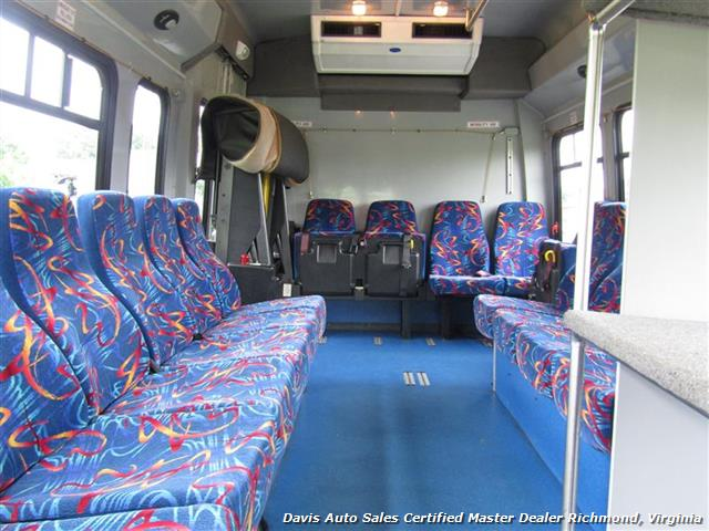 2007 Ford E450 Super Duty Startrans Passenger Shuttle Bus Wheelchair Accessable DRW - Photo 18 - Richmond, VA 23237