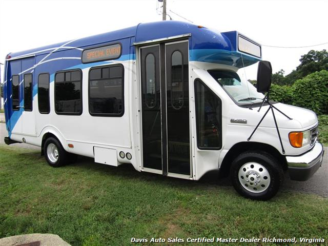 2007 Ford E450 Super Duty Startrans Passenger Shuttle Bus Wheelchair Accessable DRW - Photo 12 - Richmond, VA 23237