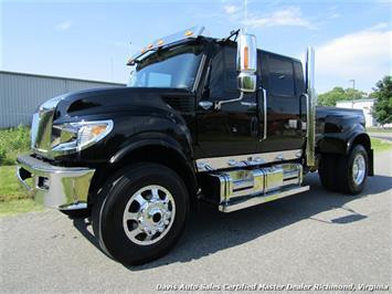 2014 International TerraStar TR005 4X4 Custom Crew Cab Hauler Bed Low Mileage Super Truck