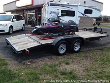2016 Force Trailer 8.5x18 Tag Along Sedan