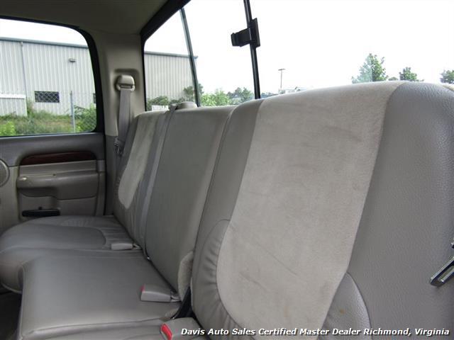 2003 Dodge Ram 3500 Laramie SLT 5.9 Cummins Diesel 4X4 Dually Crew Cab - Photo 23 - Richmond, VA 23237