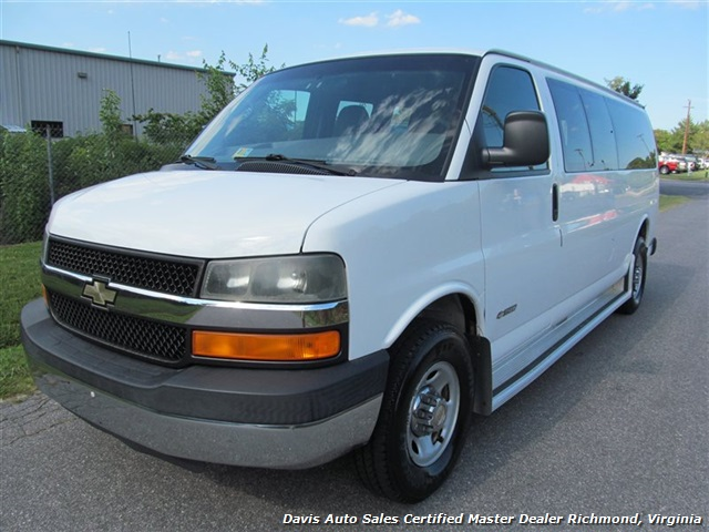 2004 chevrolet express 3500 ls. Black Bedroom Furniture Sets. Home Design Ideas