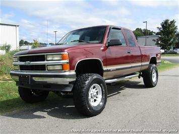 1997 Chevrolet Silverado 1500 C/K Lifted 4X4 Extended Cab Short Bed Truck