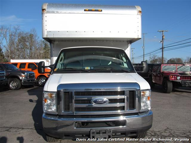 2008 ford e 350 super duty cargo box work van 14 15 foot. Black Bedroom Furniture Sets. Home Design Ideas