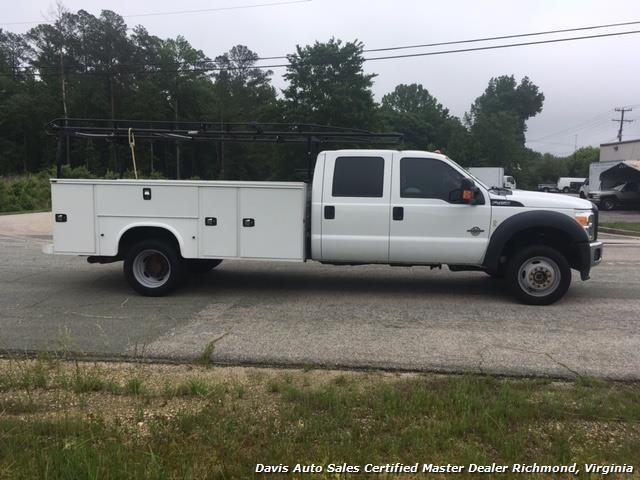 2015 Ford F-450 Super Duty XL 4X4 Diesel 6.7 Dually Crew Cab Utility Work Bin Body - Photo 4 - Richmond, VA 23237