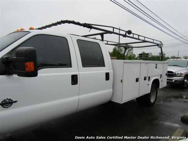 2015 Ford F-450 Super Duty XL 4X4 Diesel 6.7 Dually Crew Cab Utility Work Bin Body - Photo 31 - Richmond, VA 23237