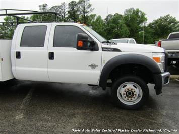 2015 Ford F-450 Super Duty XL 4X4 Diesel 6.7 Dually Crew Cab Utility Work Bin Body - Photo 33 - Richmond, VA 23237