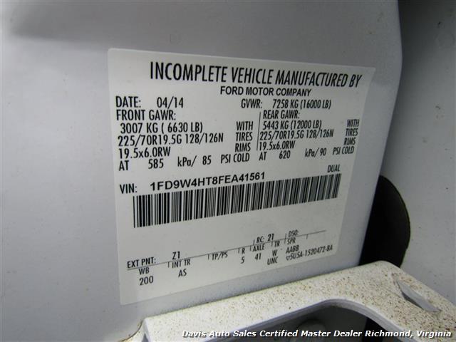 2015 Ford F-450 Super Duty XL 4X4 Diesel 6.7 Dually Crew Cab Utility Work Bin Body - Photo 10 - Richmond, VA 23237