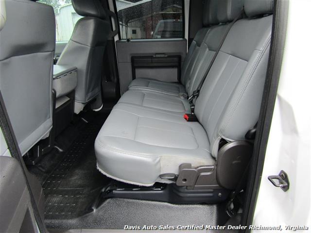 2015 Ford F-450 Super Duty XL 4X4 Diesel 6.7 Dually Crew Cab Utility Work Bin Body - Photo 8 - Richmond, VA 23237