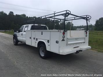 2015 Ford F-450 Super Duty XL 4X4 Diesel 6.7 Dually Crew Cab Utility Work Bin Body - Photo 12 - Richmond, VA 23237