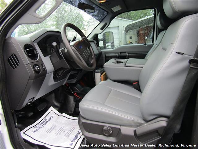 2015 Ford F-450 Super Duty XL 4X4 Diesel 6.7 Dually Crew Cab Utility Work Bin Body - Photo 6 - Richmond, VA 23237