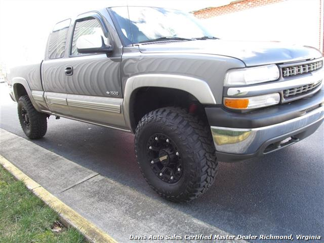 2000 chevrolet silverado 1500 lifted ls lt 4x4 extended cab. Black Bedroom Furniture Sets. Home Design Ideas