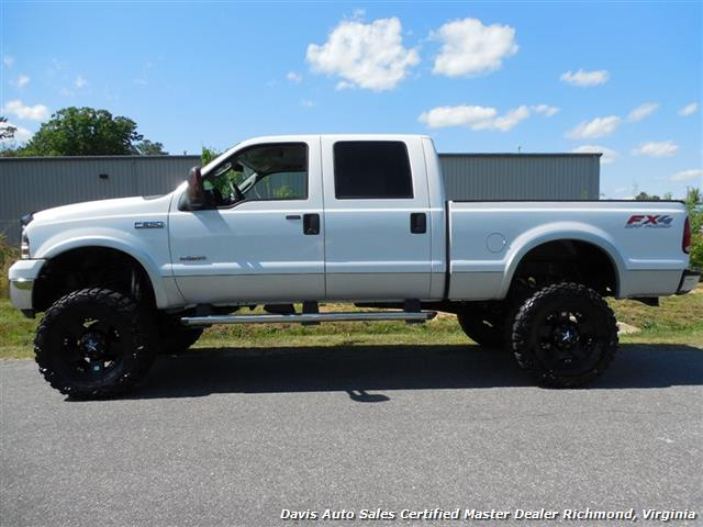 2006 ford f 250 powerstroke diesel lariat fx4 lifted 4x4 crew cab. Black Bedroom Furniture Sets. Home Design Ideas
