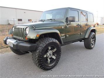 2008 Jeep Wrangler Unlimited Sahara 4x4 4 door SUV