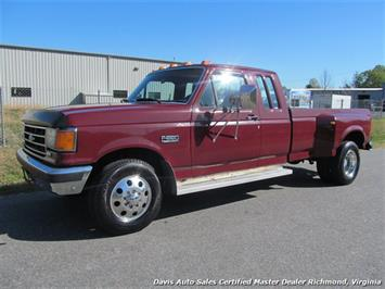1990 Ford F-350 Super Duty XLT Lariat Extended Cab Long Bed DRW Truck