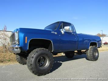1979 Chevrolet Scottsdale C/K10 Lifted 4X4 Square Body Regular Cab Long Bed Truck