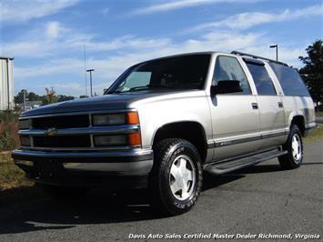 1999 Chevrolet Suburban K 1500 LT 4X4 SUV