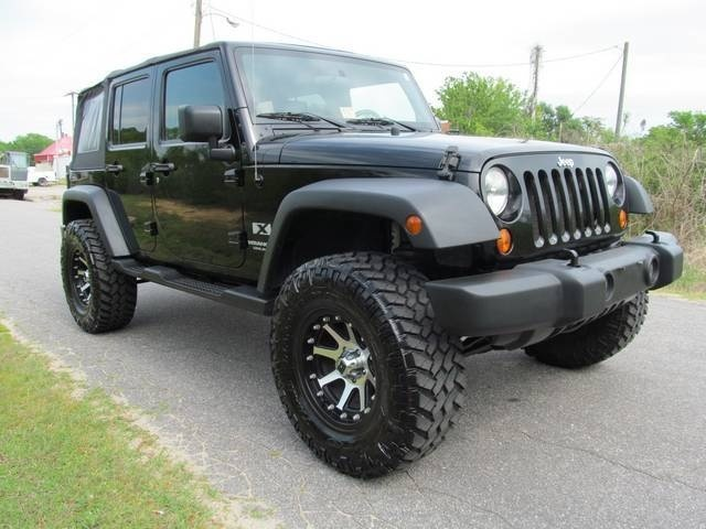 How Much Is It To Lease A Jeep Wrangler >> 2007 Jeep Wrangler Unlimited X