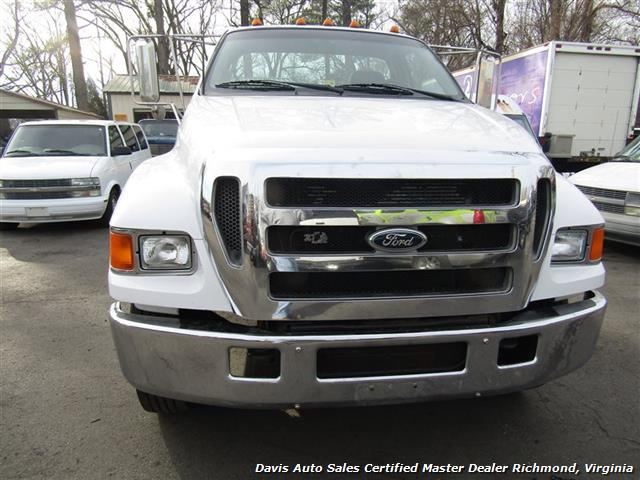 2005 Ford F-650 Super Duty XL Cummins Diesel Straight Frame Cab Chassis - Photo 14 - Richmond, VA 23237