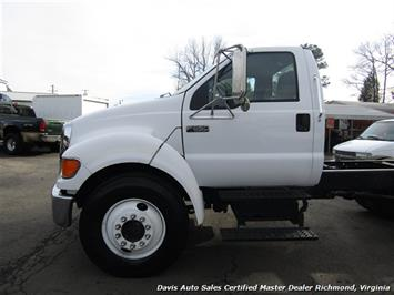 2005 Ford F-650 Super Duty XL Cummins Diesel Straight Frame Cab Chassis - Photo 2 - Richmond, VA 23237
