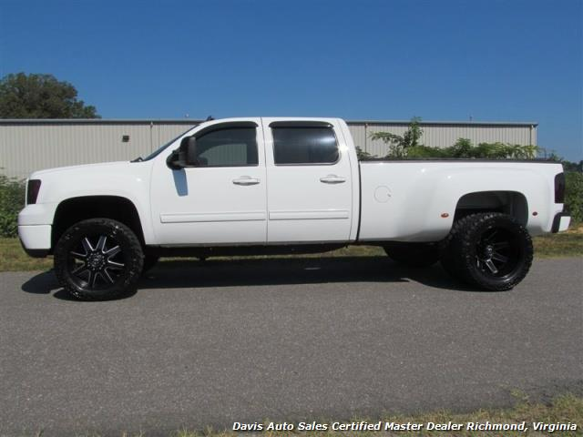 2008 gmc sierra 3500 hd slt 4x4 crew cab long bed dually. Black Bedroom Furniture Sets. Home Design Ideas