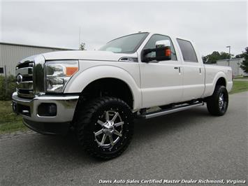2011 Ford F-250 Super Duty Lariat FX4 Lifted Crew Cab Short Bed Truck