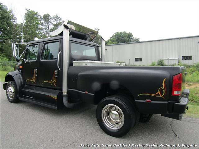 1996 International 4700 Navistar Custom Crew Cab Hauler Bed Monster Super - Photo 3 - Richmond, VA 23237