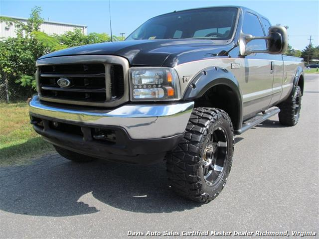 2002 ford f 250 super duty lariat 4x4 lifted supercab long bed. Black Bedroom Furniture Sets. Home Design Ideas