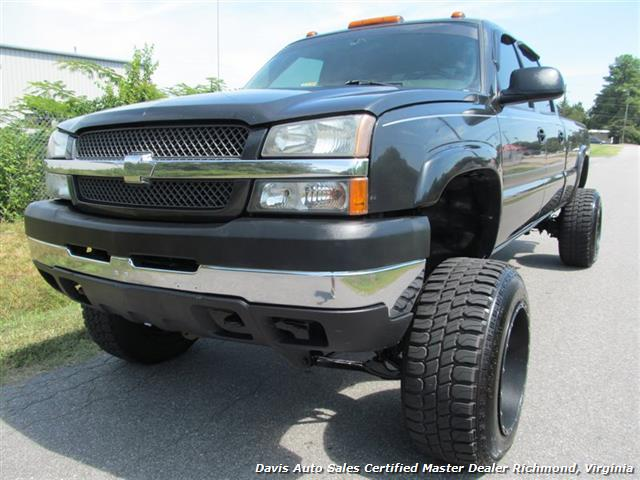 2004 chevrolet silverado 2500 hd duramax lifted diesel ls 4x4 crew cab long bed. Black Bedroom Furniture Sets. Home Design Ideas