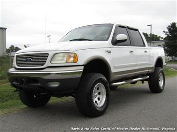 2001 Ford F-150 Lariat Lifted 4X4 SuperCrew Short Bed Truck