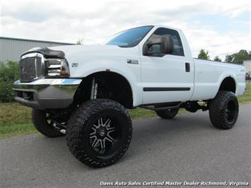 2002 Ford F-350 Lifted Super Duty XLT 4X4 Standard Cab Long Bed Truck