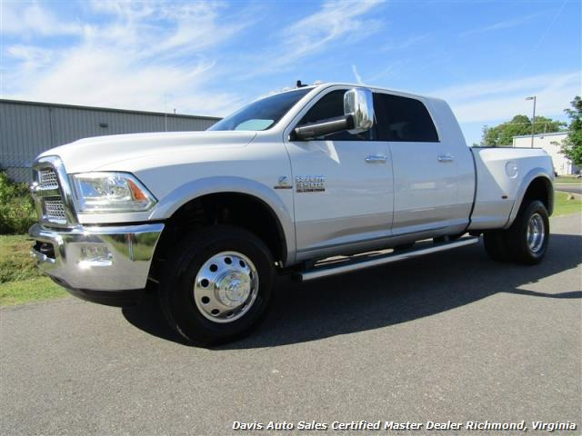 2015 Dodge Ram 3500 Laramie Cummins Turbo Diesel 4X4 Dually Mega Cab Short Bed - Photo 1 - Richmond, VA 23237