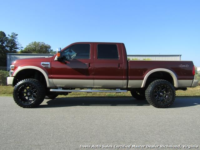 2008 ford f 250 super duty king ranch lifted diesel 4x4. Black Bedroom Furniture Sets. Home Design Ideas
