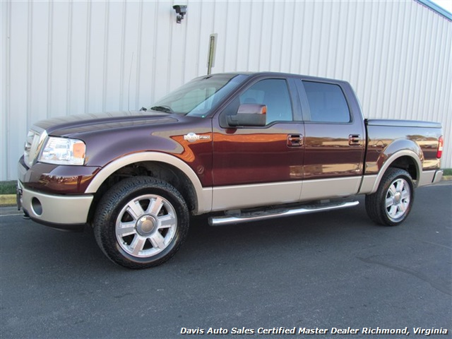 2008 ford f 150 king ranch 4x4 crew cab short bed. Black Bedroom Furniture Sets. Home Design Ideas