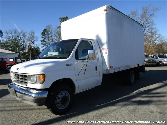 1996 Ford E-350 Econoline 14 Foot Commercial Work Box Van - Photo 1 - Richmond, VA 23237