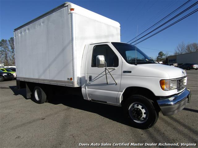 1996 Ford E-350 Econoline 14 Foot Commercial Work Box Van - Photo 2 - Richmond, VA 23237