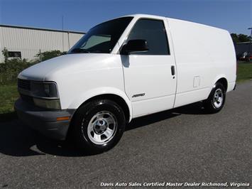 2001 Chevrolet Astro Cargo Extended Length Commerical Work Van