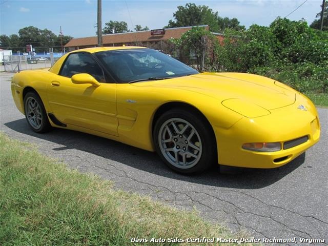 2003 Chevrolet Corvette Z06 405 HP C5 50th Anniversary Manual Hard Top - Photo 4 - Richmond, VA 23237