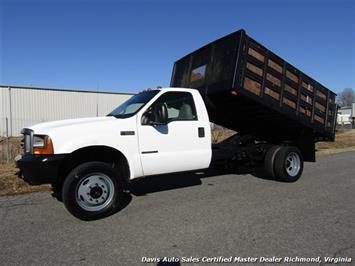 2000 Ford F-550 Super Duty XL 7.3 Diesel Powerstroke Regular Cab DRW Dump Truck