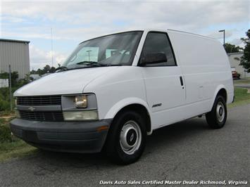 1997 Chevrolet Astro Cargo Extended Length Low Mileage Government Owned Mini Van
