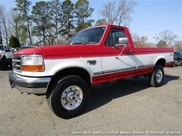 1997 Ford F-250 XLT OBS 7.3 Diesel 4X4 Regular Cab Long Bed Truck