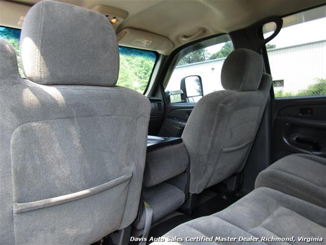 2004 Chevrolet Silverado 2500 HD LS Lifted 4X4 Crew Cab Short Bed Vortec - Photo 33 - Richmond, VA 23237