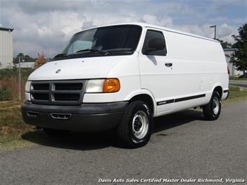 2000 Dodge Ram Van 1500 Commercial Cargo Work Van