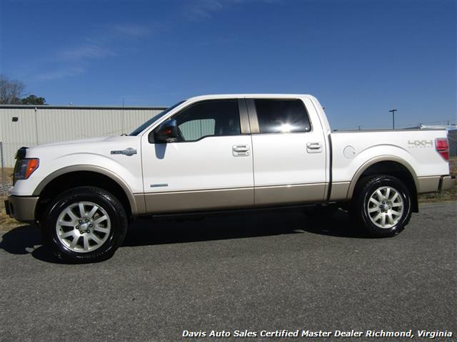2012 ford f 150 king ranch 4x4 fully loaded supercrew short bed. Black Bedroom Furniture Sets. Home Design Ideas